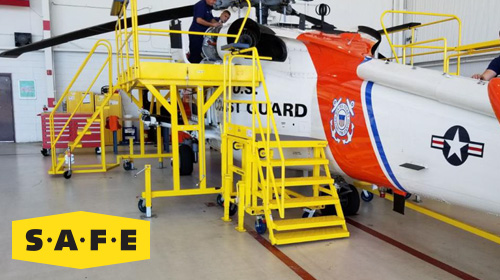 Fire Suppression Bottle Check Stand for the USCG In Mobile, Al