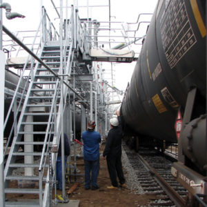 Custom Railroad Maintenance & Safety Equipiment - SAFE Structure Designs