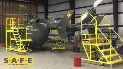 Custom Aircraft Maintenance Platforms - Safe Structure Designs