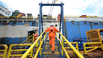 Marine Maintenance Work Platforms - SAFE Structure Designs