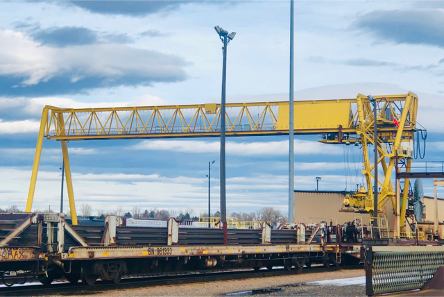 Gantry Cranes for Industrial Applications - SAFE Structure Designs