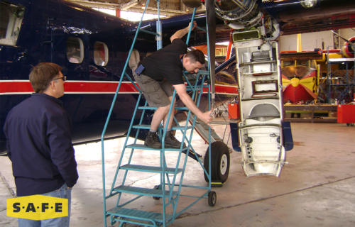 Custom Wing Fuselage Maintenance Platform for the DHC-6 Twin Otter - SAFE Structure Designs