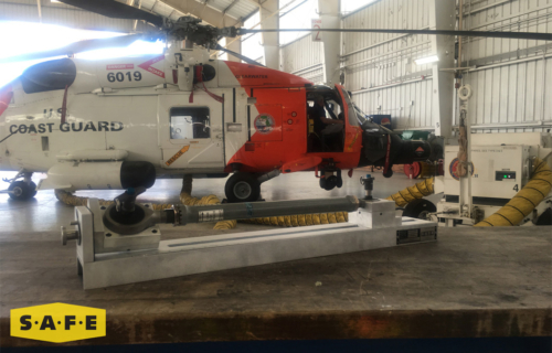Custom Built Hangar Equipment - Pitch Tool for the MH-60 Jayhawk - SAFE Structure Designs