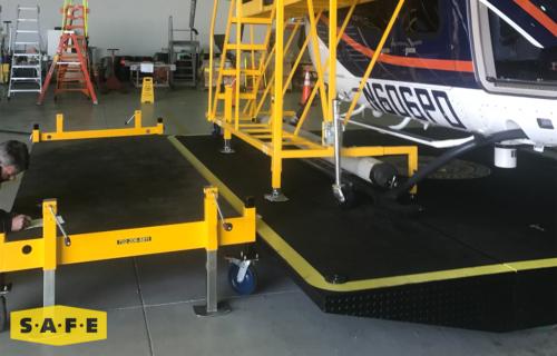 Custom Built Hangar Equipment - Storage Stand - SAFE Structure Designs
