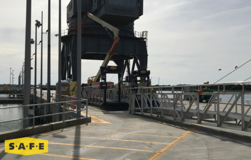 Custom Large Marine Crane Equipment for the US Navy - SAFE Structure Designs